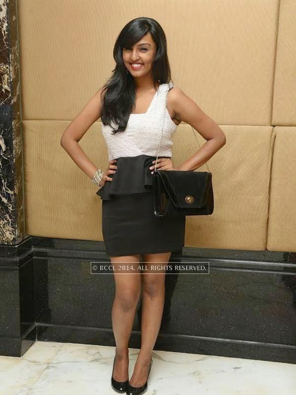 Malavika at Sam Paul success party at Taj Clubhouse in Chennai.