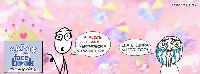 Capas para Facebook Alice