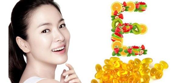 Làm đẹp hiệu quả với Vitamin E