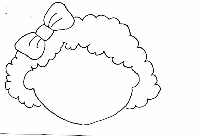 Dibujo De Cara De Niño Pequeño Para Colorear: Armar Rostro Caras Para Completar