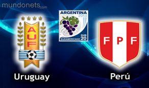 Peru Uruguay vivo online Sub20 Horarios 20 Enero