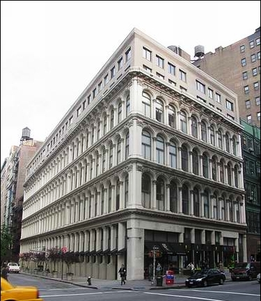 The McCreery Building Today With Its Magnificent Mansard Replaced By Two  Rather Plain Stories    Photo Restaurantwarecollectors.com