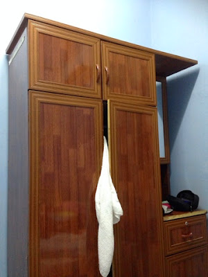 Wardrobe in PNK Sepang Resort