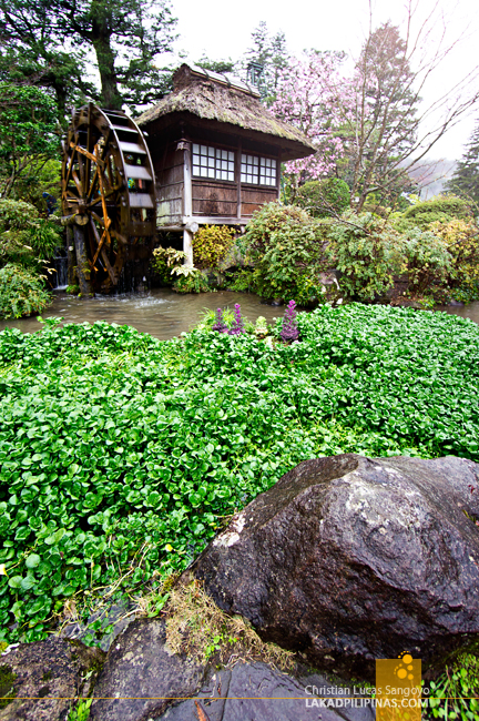 Water Mill at Hakone's Fujiya Hotel