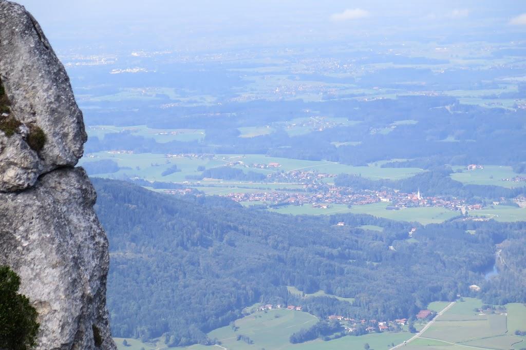 Ausblick in Richtung Frasdorf