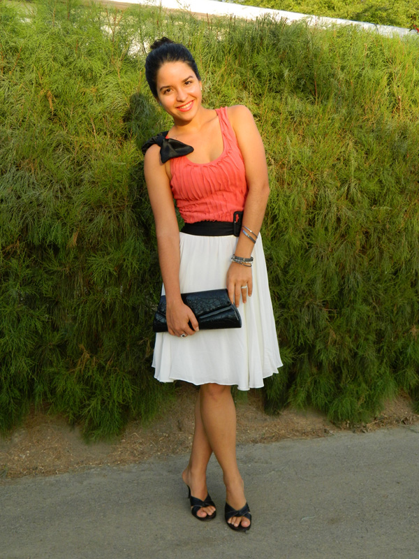 Pleated Top and Twirly Skirt