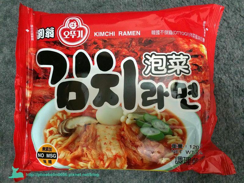 韓國不倒翁泡菜拉麵
