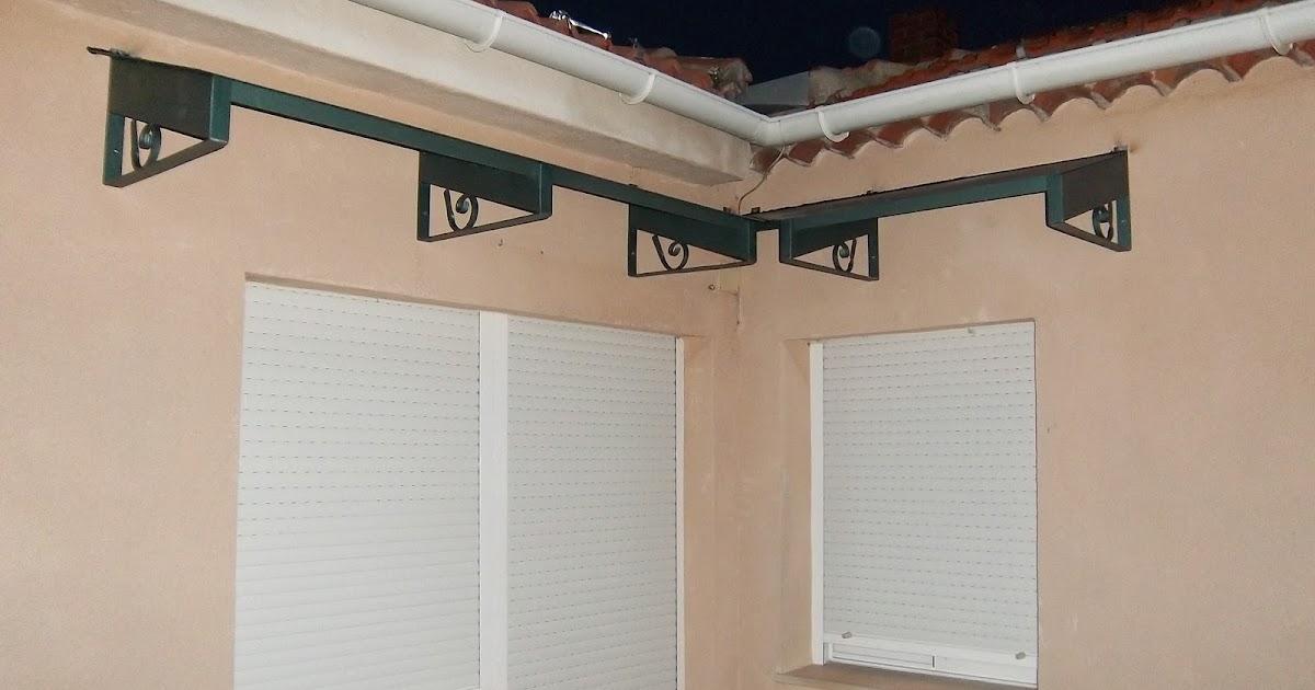 Norbel carpinteria met lica y acero inoxidable tejadillo en escuadra para teja - Tejadillo para puerta ...