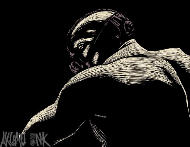 bane, bane fanart, dark knight sketch, comic fanart, batman commission, batman artwork