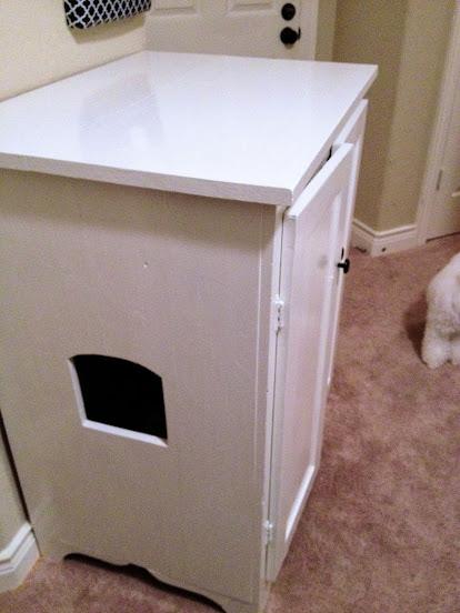 hide the litter box