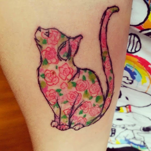 50 Cute And Lovely Cat Tattoos