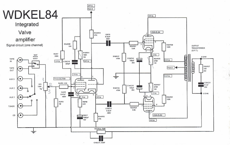 mods including constant current source for a wd kel84 or
