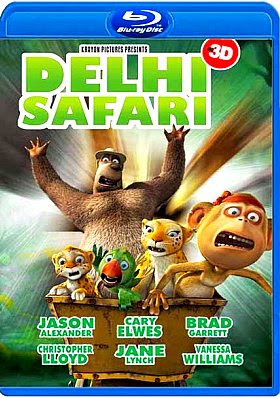 Filme Poster Delhi Safari BDRip XviD & RMVB Legendado
