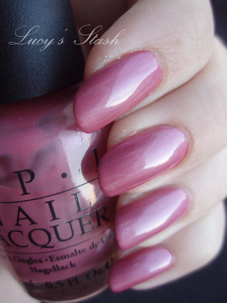 Opi Not So Bora Ing Pink With Little Bit Of Ling