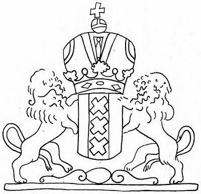 Филигрань «Герб Амстердама»