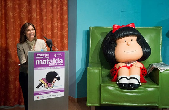 Exposición 'Mafalda, una niña de 50 años' en el Espacio Cultural MIRA de Pozuelo