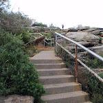 Steps below The Gap Bluff (256616)