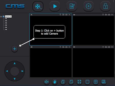 برنامج CMSClient لكاميرات المراقبة Yoosee-cms_settings_step1_Paktron_CCTV
