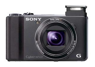 Sony HX9V: ultra-thin camera, super zoom