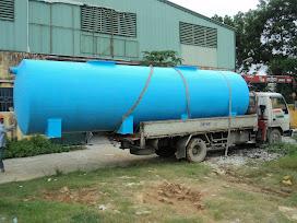 Minh họa: Bồn composite xử lý nước thải do Công ty Cổ phấn composite và Công nghệ Ánh Dương sản xuất