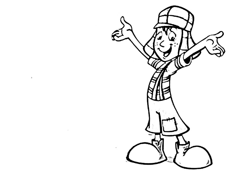 chavo coloring pages - photo#6