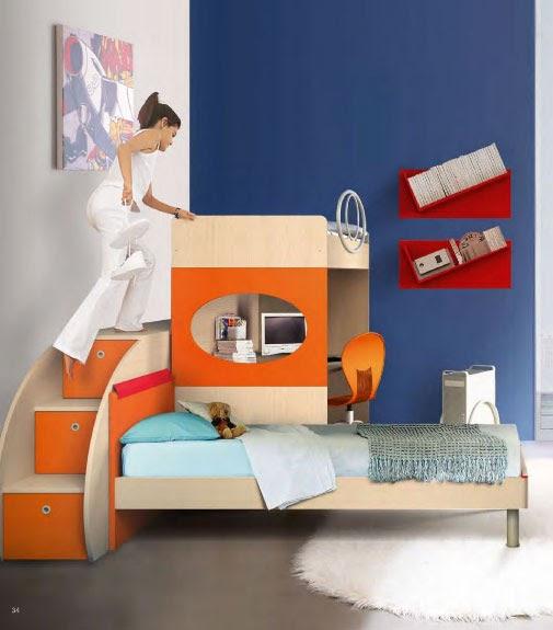 Catalogo de muebles infantiles juveniles para dormitorios peque os revistas de decoracion - Dormitorios infantiles pequenos ...