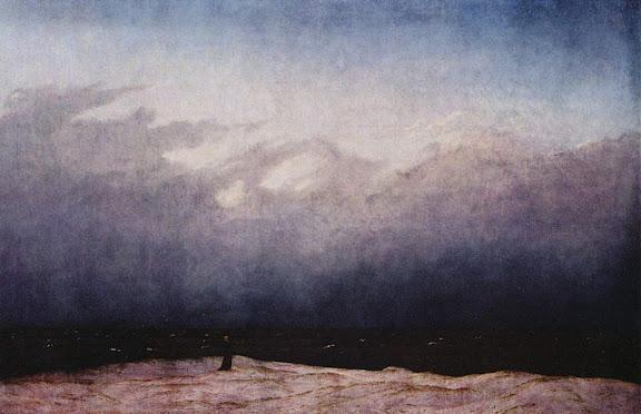 Caspar David Friedrich(1774/1840) Monje a la orilla del mar