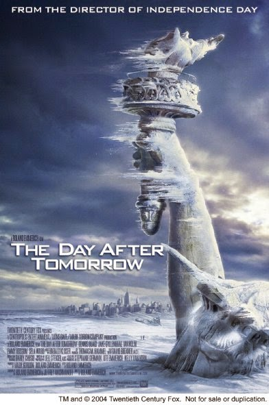 Poster Of The Day After Tomorrow (2004) Full Movie Hindi Dubbed Free Download Watch Online At alldownloads4u.com