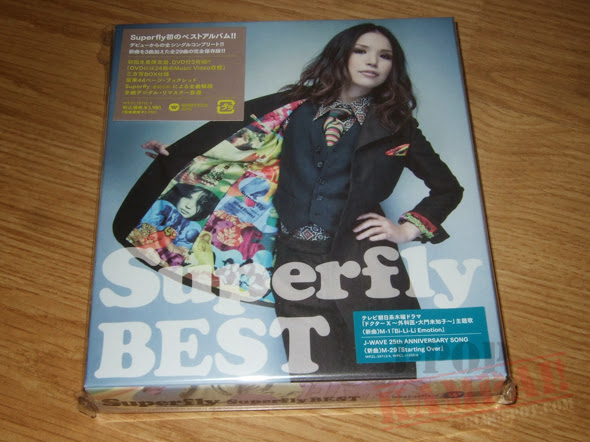 [CD Packaging] Superfly - Superfly BEST (2CD+DVD First Press)