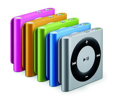 iPod shuffle第4世代:2010年9月発売
