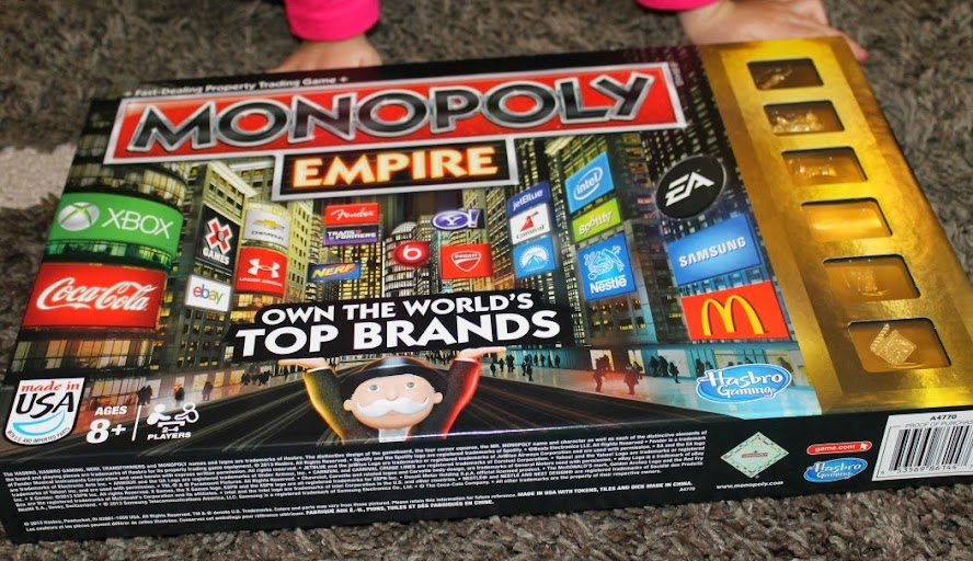 Monopoly Empire Board Game from Hasbro
