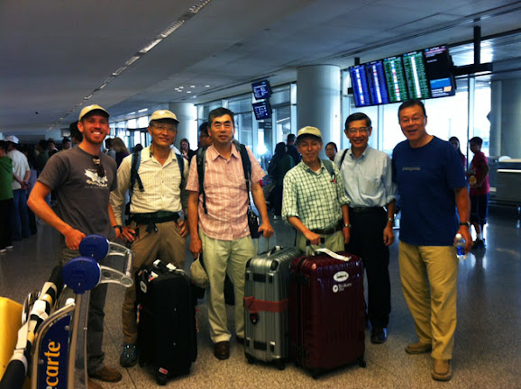 Tenkara anglers arrive from Japan in San Francisco