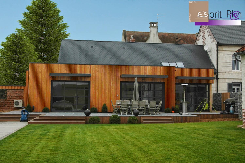 Habitation bois for Extension habitation