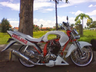 Foto Modifikasi Honda Tiger Ceper