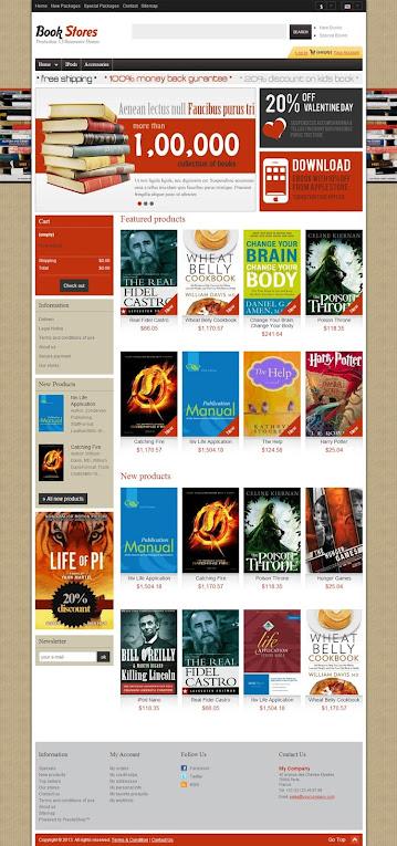 Home Page - Book and Magazine Prestashop Themes