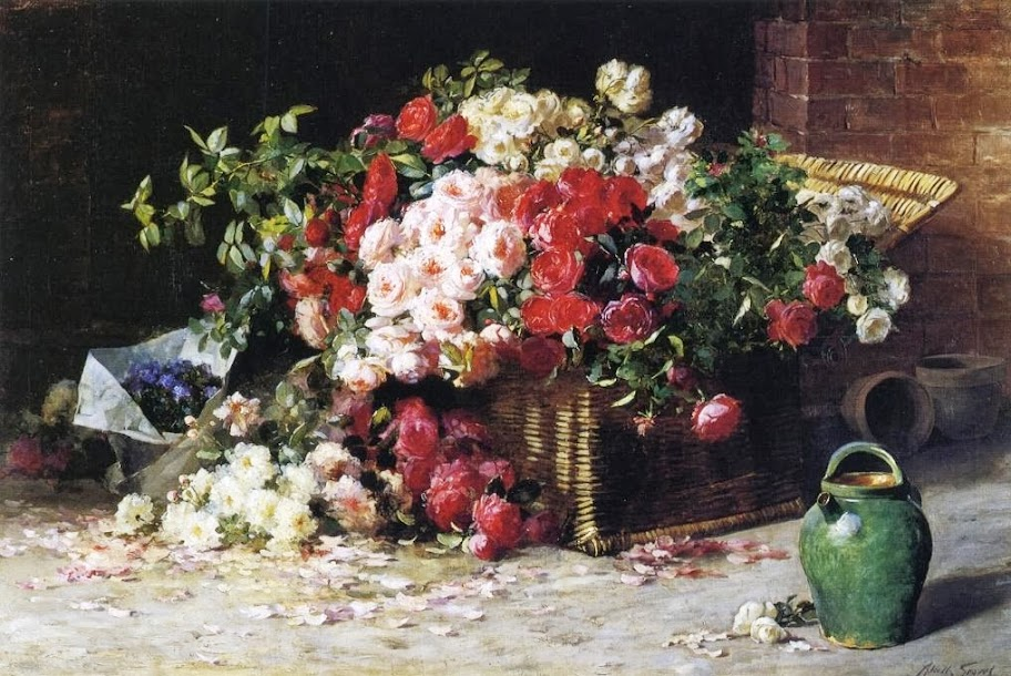 Abbott Fuller Graves - Still Life with Roses