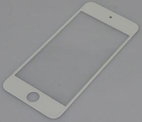 iPod touch第5世代の4.1型フロントパネル ホワイ