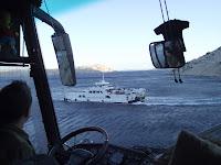 Na tenhle trajekt na ostrov Rab právě čekáme.