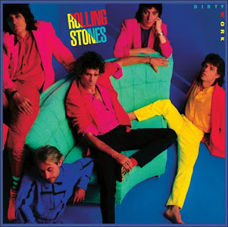 The Rolling Stones - Dirty Work album cover