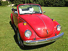 1977 Volkswagen Super Beetle Convertible Rust Free California Car Karmann Rare !