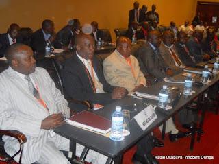 Une vue de délégués du M23 à Kampala lors des négociations avec le gouvernement congolais (Décembre 2012)