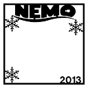 Blizzard Nemo 2013 Scrapbooking Die Cut Overlay