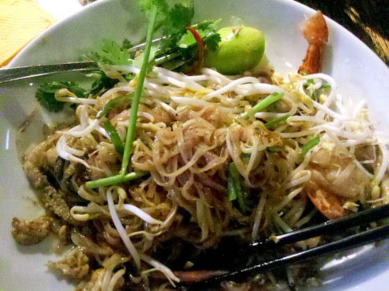 Pad Thai comida tailandesa