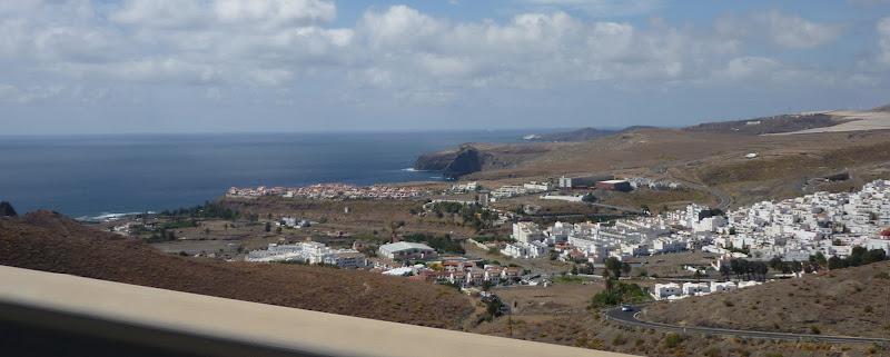 Panorama von Agaete und Puerto de las Nieves.