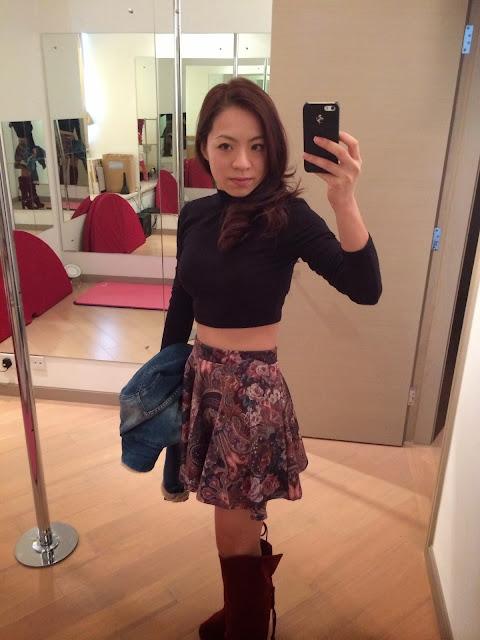 Twinkle C  *輕鬆露出上腰,拉長雙腿的感覺*  #outfit