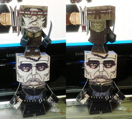 The Witcher 2 Serrit Papercraft