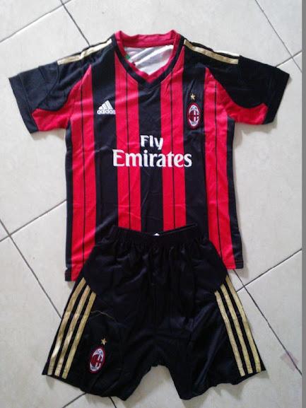 Jual Jersey Anak AC Milan Home 2014