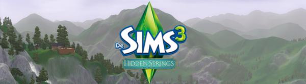 Sims 3 Hidden Springs review banner