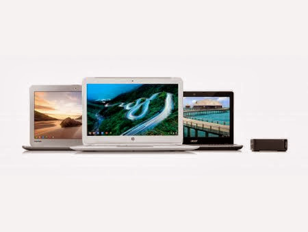 More Intel Chromebooks Coming From Acer, Toshiba, HP and Asus