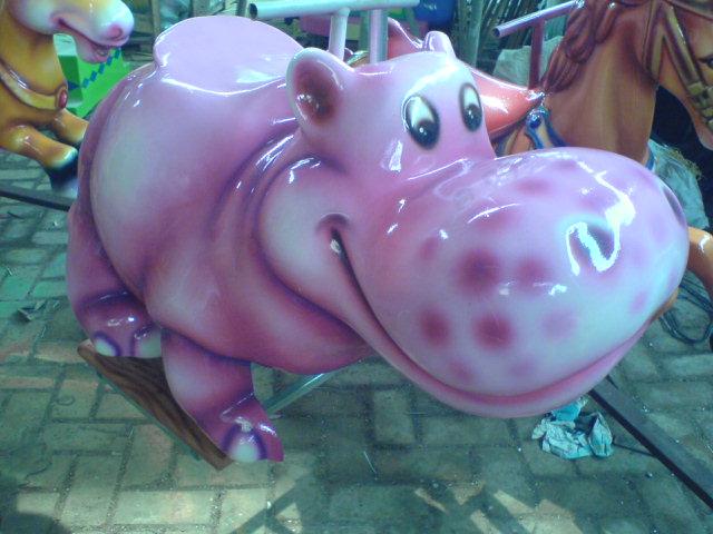 Mainan Kiddie Rides Model Binatang Atau Hewan